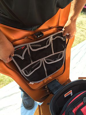 Spyder trunk pockets